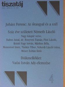 Babus Antal - Tiszatáj 2001. április [antikvár]