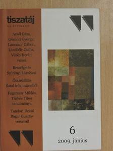 Aczél Géza - Tiszatáj 2009. június [antikvár]
