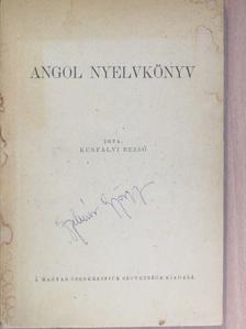Kunfalvi Rezső - Angol nyelvkönyv [antikvár]