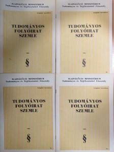 Agonács Gábor - Tudományos Folyóirat Szemle 1984/1-4. [antikvár]