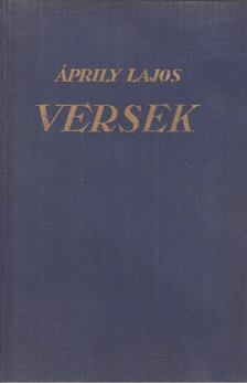 Áprily Lajos - Versek [antikvár]