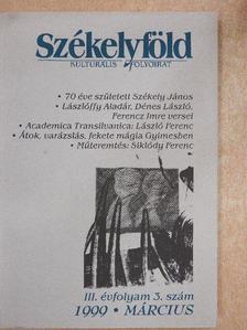 Balogh László - Székelyföld 1999. március [antikvár]