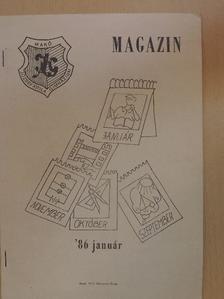 Bán László - József Attila Gimnázium Magazin 1986. január [antikvár]