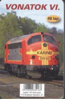 Kártya - Vonatok VI.48 lap