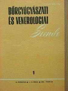 Dr. Ablonczy Éva - Bőrgyógyászati és venerologiai szemle 1989. (nem teljes évfolyam) [antikvár]
