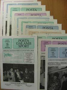 Nádas István - Postagalamb Sport 1993. január-december [antikvár]