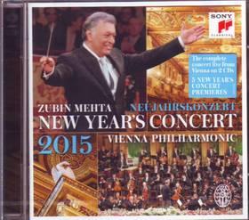 NEW YEARS'S CONCERT 2015  2CD ZUBIN MEHTA