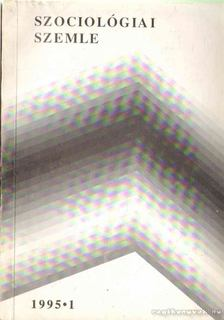 Szociológiai szemle 1995/1 [antikvár]