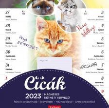 22T9000-001 - CICÁK MÁGNESES NAPTÁR 2022