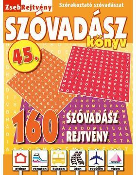 CSOSCH KIADÓ - ZsebRejtvény SZÓVADÁSZ Könyv 45.