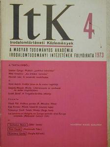 Agárdi Péter - Irodalomtörténeti Közlemények 1973/4. [antikvár]