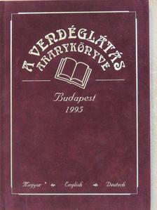 Kárpáti Tamás - A vendéglátás aranykönyve 1995 [antikvár]