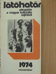 Baka István - Látóhatár 1974. november [antikvár]