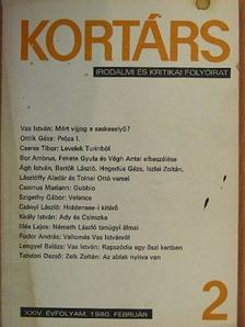 Abody Béla - Kortárs 1980. (nem teljes évfolyam) [antikvár]