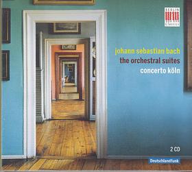 Bach - THE ORCHESTRAL SUITES 2CD CONCERTO KÖLN