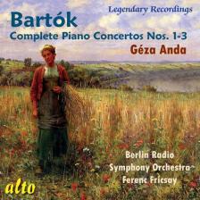 BARTÓK - COMPLETE PIANO CONCERTOS NOS. 1-3 CD ANDA GÉZA