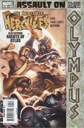 Pak, Greg, Fred Van Lente, Buchemi, Rodney - Incredible Hercules No. 141 [antikvár]