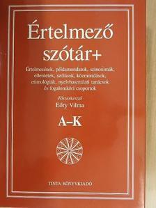 Bánki Judit - Értelmező szótár+ I-II. [antikvár]