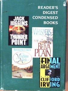 Belva Plain - Thunder Point/The Venetian Mask/Final Argument/Whispers [antikvár]