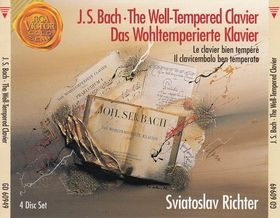 Bach - THE WELL-TEMPERED CLAVIER COMPLETT  4CD