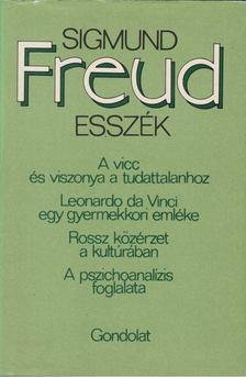 Sigmund Freud - Esszék [antikvár]