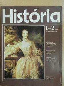 Balogh Sándor - História 1989/1-2. [antikvár]