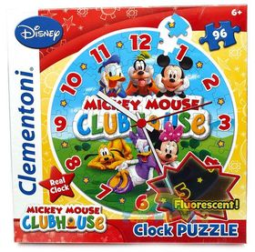 .- - Clementoni Puzzle óra 96 Mickey Mouse