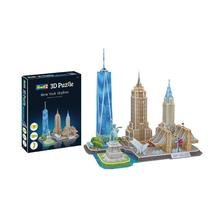 00142 - REVELL NEW YORK 3D PUZZLE (00142)
