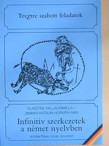 Horváth Iván - Infinitiv szerkezetek a német nyelvben [antikvár]