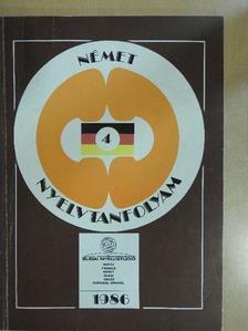 Sobieski Artúr - Német nyelvtanfolyam 4. [antikvár]