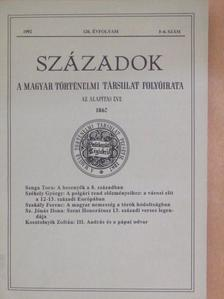 Benda Kálmán - Századok 1992/5-6. [antikvár]