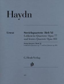 HAYDN J. - STREICHQUARTETTE HEFT XI OP.77, 103 URTEXT (HORST WALTER), STIMMEN