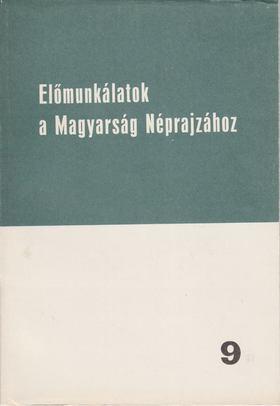 HOPPÁL MIHÁLY - Folklór tanulmányok [antikvár]