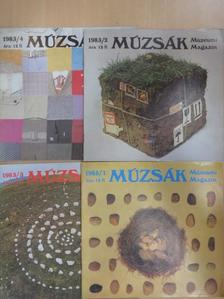 Attalai Gábor - Múzsák 1983/1-4. [antikvár]