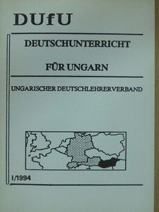 Ágnes Salánki - DUfU Deutschunterricht für Ungarn I/1994 [antikvár]