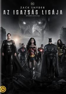 Zack Snyder - AZ IGAZSÁG LIGÁJA (2021) DVD