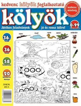 CSOSCH KIADÓ - Kedvenc Kölyök Foglalkoztató 36.
