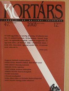 Ács Margit - Kortárs 2003. január-december [antikvár]