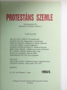 Dr. Ravasz László - Protestáns Szemle 1993/3. [antikvár]