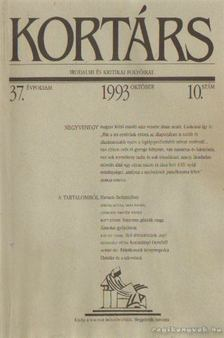 Kortárs 1993. 10. szám [antikvár]