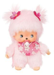 Monchhichi - babychichi lány pink