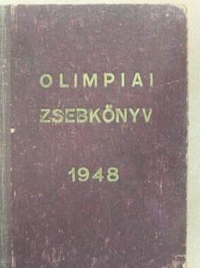 Balogh Ambrus - Magyar olimpiai zsebkönyv 1948 [antikvár]