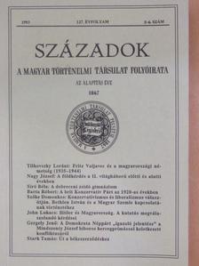 Barta Róbert - Századok 1993/5-6. [antikvár]