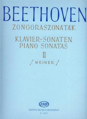BEETHOVEN - ZONGORASZONÁTÁK II (WEINER LEÓ)