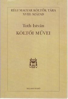 Orlovszky Géza - Toth István költői művei [antikvár]