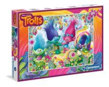 .- - Clementoni Puzzle 180 Trollok