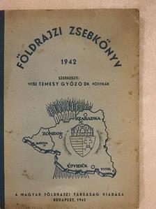 Bacsó Nándor - Földrajzi zsebkönyv 1942 [antikvár]