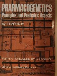 Szórády István - Pharmacogenetics [antikvár]