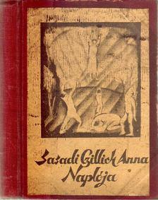 Czillich Anna - Czillich Anna naplója [antikvár]