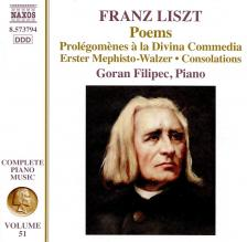 LISZT - DANCES CD FILIPEC